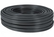 Câble Ethernet CAT5e F/UTP multibrin - Noir - 100m