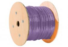 Dexlan cable monobrin s/ftp CAT7 violet LS0H rpc dca - 500M