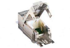LEONI MegaLine Connect45 embase noyau RJ45 CAT6A STP (lot de 24)