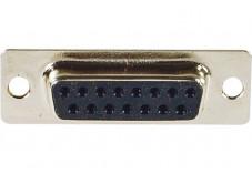 Connecteur à souder - DB15 Femelle