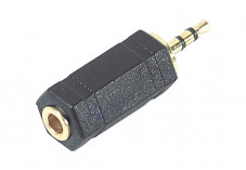 Adaptateur stéréo Jack 3.5 mm femelle / Jack 2.5 mm mâle