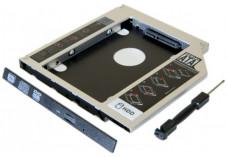 Tiroir lecteur CD ordinateur portable pour disque HDD/SSD 2.5
