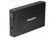 DEXLAN Boîtier externe USB 3.0 pour disque dur 3.5