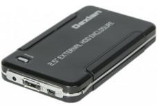 DEXLAN Boîtier externe USB 2/eSATA pour disque dur 2.5