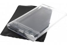 Boîtier externe USB 3.0 transparent disque dur ou SSD 2.5