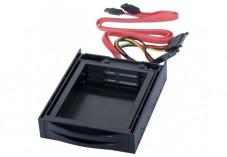 Double tiroir mobile 2 Disques SATA 2.5'' en baie 3.5''