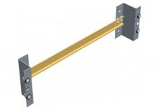 Rail din 35mm x 36 cm pour montage en baie 19'' support 3U