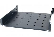 DEXLAN Etagère fixe universelle pour baie prof 650 / 800 mm noir