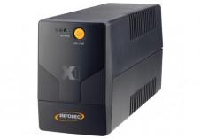 INFOSEC Onduleur X1 EX USB 1250 VA