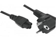 Cordon d'alimentation tripolaire pour PC portable noir - 5,0 m