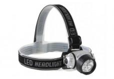 Lampe frontale 7 LED ultralumineuses