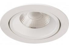 Downligt LED blanc 10 W 4000°K orientable