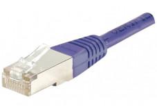 Câble RJ45 CAT 5e F/UTP - Violet - (5,0m)
