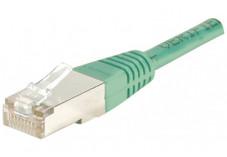 Câble RJ45 CAT 5e F/UTP - Vert - (2,0m)