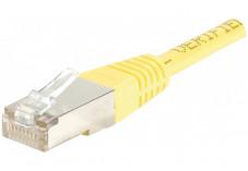 Câble RJ45 CAT6 ECO F/UTP - Jaune - (5m)