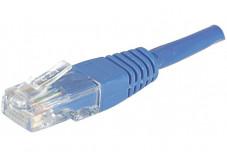 Câble RJ45 CAT 5e ECO U/UTP - Bleu - (3m)