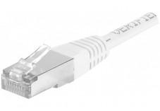 Câble RJ45 CAT6a F/UTP - Blanc - (1,5m)