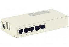 Switch Métal Réseau Ethernet - 5 ports 10/100