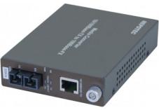 Convertisseur fibre optique/RJ45 - 100FX SC Mmode 30Kms