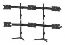 AAVARA Support à poser DS610 - 6 écrans
