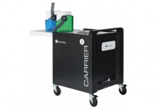 Carrier 30 Cart chariot rangement et charge - 30 tablettes