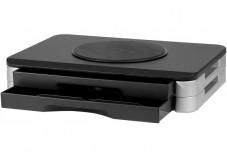 Support pour écran rotatif à tiroirs