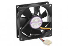 Ventilateur de rechange  - 4 Fils PWM - 80x80x25