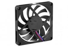 Ventilateur lubrifié à vie - 80x80x10