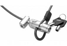Dacomex câble antivol Clip-Câble à clé avec attache vis sécurisée
