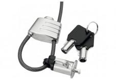 Dacomex antivol boucle à clé avec encoche K-Lock mobile securisée