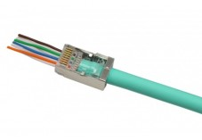 PLUG RJ45 EZ CAT6 STP (LOT de 10 PCS)