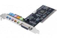 Carte son 5.1 PCI Chipset CMedia