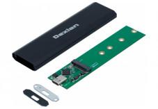 DEXLAN Boîtier externe USB 3.1 Gen2 Type-C SSD M.2 PCIe NVMe