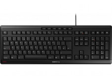 CHERRY Clavier STREAM KEYBOARD USB noir QWERTY (UK)