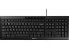 CHERRY Clavier STREAM KEYBOARD USB noir QWERTY (US)