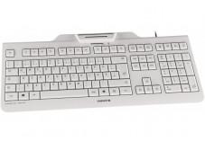 CHERRY Clavier (+cart puces) KC-1000 SC USB blanc (FR)