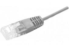 Cordon utp 2P surmoule RJ45/RJ45 telephone 100 ohms - 1M