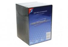 Boitier dvd std noir 1 dvd pack 10