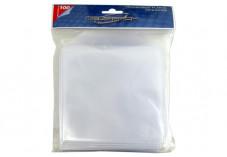 100 pochettes plastique avec rabat pour 1 cd pack 100