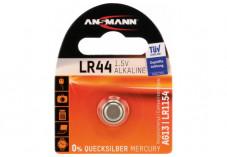 ANSMANN Piles alcalines 5015303 LR44 blister de 1