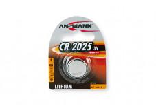 ANSMANN Piles lithium 5020142 CR2025 blister de 1