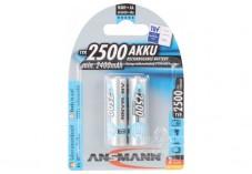 ANSMANN Batteries 5035432 HR6 / AA blister de 2