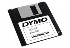 Rouleau dymo 320 etiquettes disket 54x70MM pour labelwriter