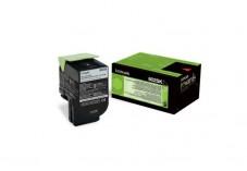 Toner LEXMARK 80C2SKE 800S1 - Noir