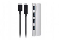 BELKIN Hub USB 3.0 Type-C 4 ports+câble USB Tye-C/MicroUSB B