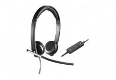 LOGITECH Casque Headset Stéréo H650e USB - Noir
