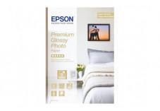 Papier photo Epson Glossy Premium Glacé A4 - 15 feuilles
