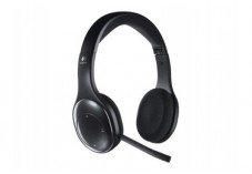 Logitech Casque Wireless HeadSet H800 - Noir