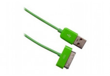 Urban Factory Cable Synchronisation 30broches/USB - Vert