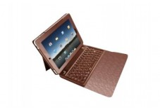 Etui URBAN FACTORY Keyboard Sleeve Bluetooth pr IPad2 -Choco